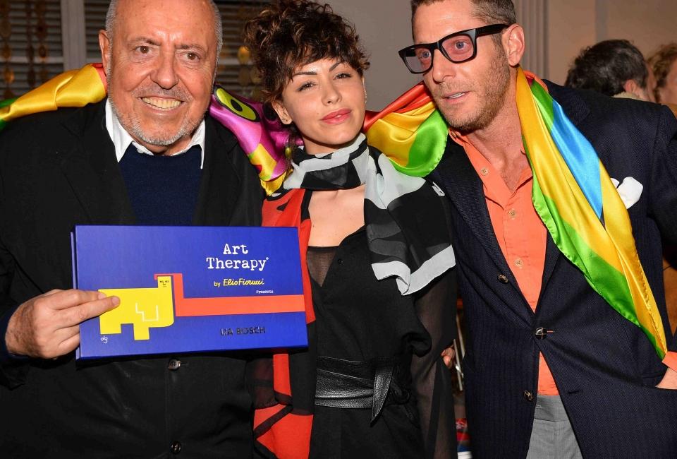 Elio Fiorucci; Lidia Bosch; Lapo Elkann