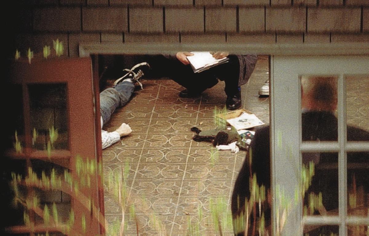 Scena del crimine del suicidio di Kurt Cobain