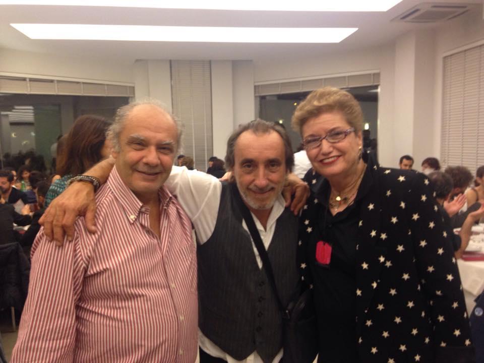 Alberto Salerno - Fausto Mesolella - Mara Maionchi Crediti Foto : Alberto Salerno