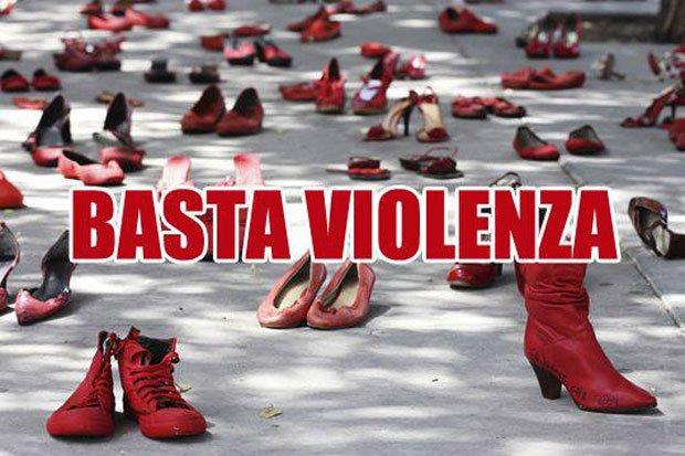 Scarpe rosse simbolo della lotta alla violenza sulle donne