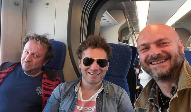 Da sinistra a destra Lorenzo Confetta, Matteo Becucci, Gianluca Tagliavini
