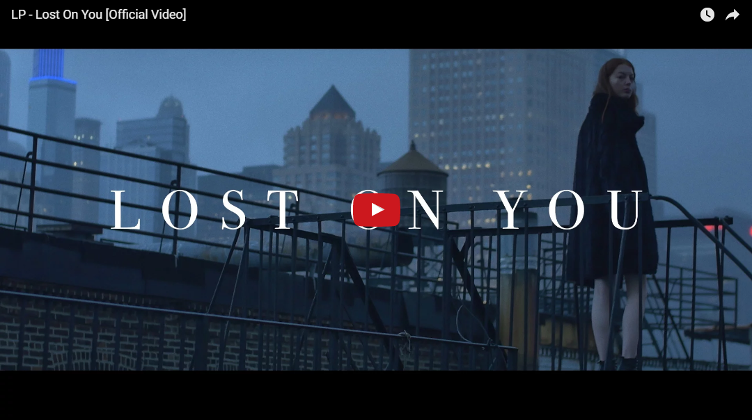 PER VISUALIZZARE IL VIDEO CLICCARE SULL'IMMAGINE LP – Lost On You [Official Music Video]
