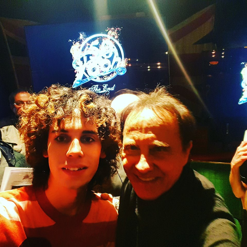 Nella foto il nostro Marco Volpati con Roby Facchinetti Crediti Foto Marco Volpati per FMD - faremusic.it