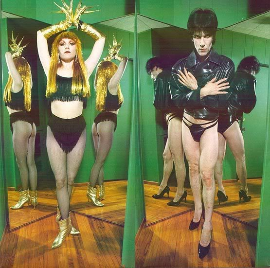 Poison Ivy e Lux Interior de The Cramps