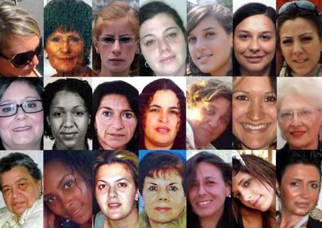 Donne uccise: 21 volti di vittime della violenza maschile