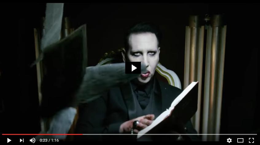 PER VEDERE IL VIDEO CLICCARE SULL'IMMAGINE. Marilyn Manson - Say10
