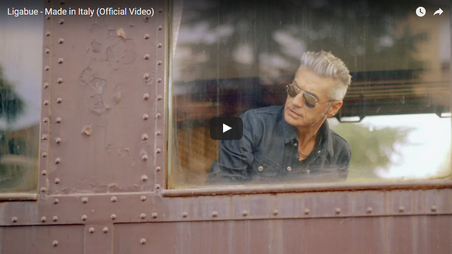 PER VEDERE IL VIDEO CLICCARE SULL'IMMAGINE. Ligabue - Made in Italy (Official Video)