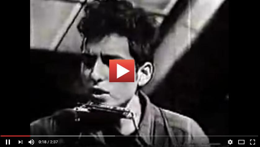 PER VEDERE IL VIDEO CLICCARE SULL'IMMAGINE Times They Are A-changin' versione di Bob Dylan