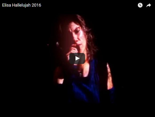 PER VEDERE IL VIDEO CLICCARE SULL'IMMAGINE Elisa- Hallelujah, Live