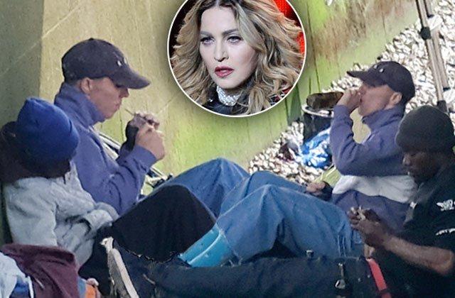 madonna-son-rocco-ritchie-drinking-smoking-suspicious-cigarettes-pp