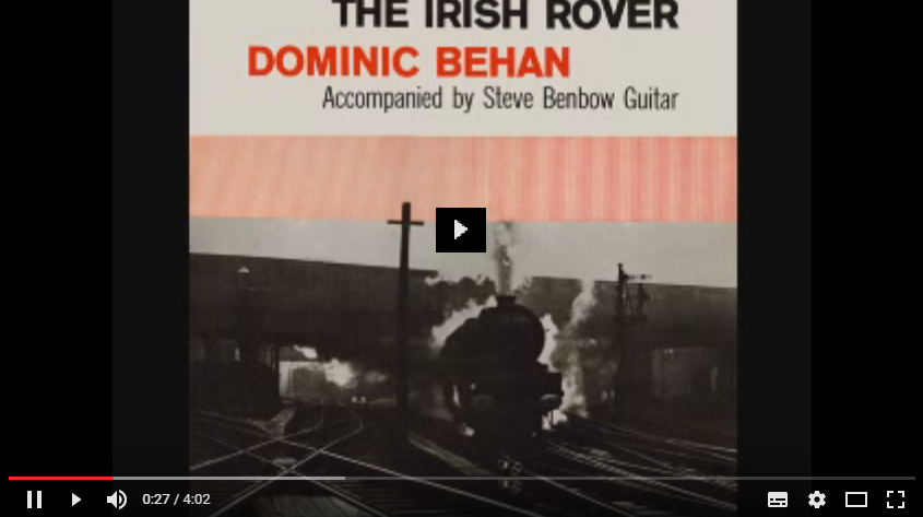 PER VEDERE IL VIDEO CLICCA SULL'IMMAGINE. Dominic Behan - The Patriot Game