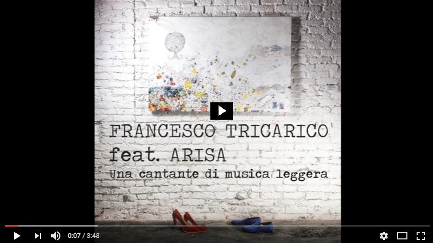 PER VEDERE IL VIDEO CLICCARE SULL'IMMAGINE Arisa Ft. Francesco Tricarico - Una cantante di musica leggera