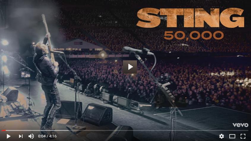 PER VEDERE IL VIDEO CLICCARE SULL'IMMAGINE Sting - 50,000 (Audio)