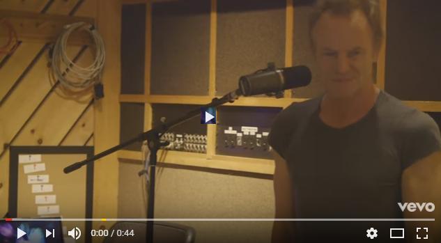 PER VEDERE IL VIDEO CLICCARE SULL'IMMAGINE Sting - New Album