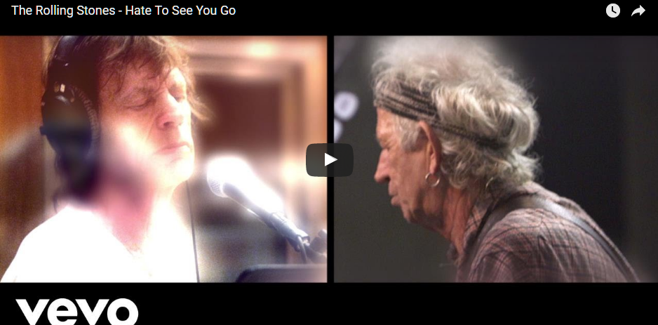 PER VISUALIZZARE IL VIDEO CLICCARE SULL'IMMAGINE The Rolling Stones - Hate To See You Go