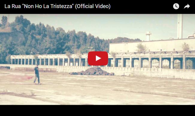 """PER VISUALIZZARE IL VIDEO CLICCARE SULL'IMMAGINE La Rua """"Non Ho La Tristezza"""""""