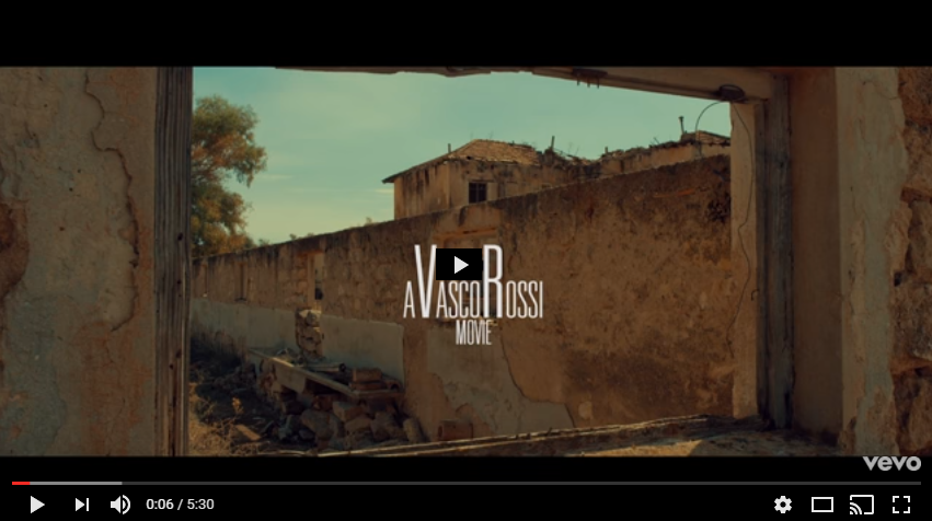 PER VISUALIZZARE IL VIDEO CLICCARE SULL'IMMAGINE Vasco Rossi - Un Mondo Migliore