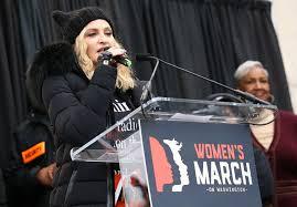 Madonna al Women's March